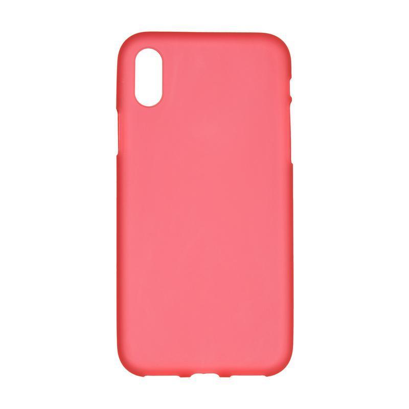 Силиконовый чехол для iPhone X Red