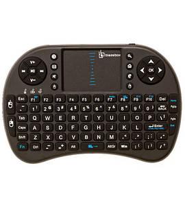 Беспроводная мини клавиатура I8 для Smart TV телевизора с Тачпадом и подсветкой, Смарт ТВ приставки блютус(Планш_SmartTV-I8)