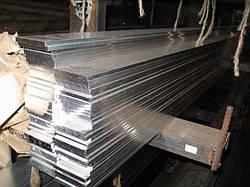 Шина алюминиевая полоса 8х60х3000 мм АД31 твёрдая и мягкая