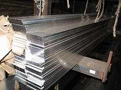 Шина алюминиевая полоса 8х80х3000 мм АД31 твёрдая и мягкая