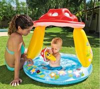 Детский надувной бассейн Грибочек.Товары для пляжного отдыха.Бассейны надувные Интекс.