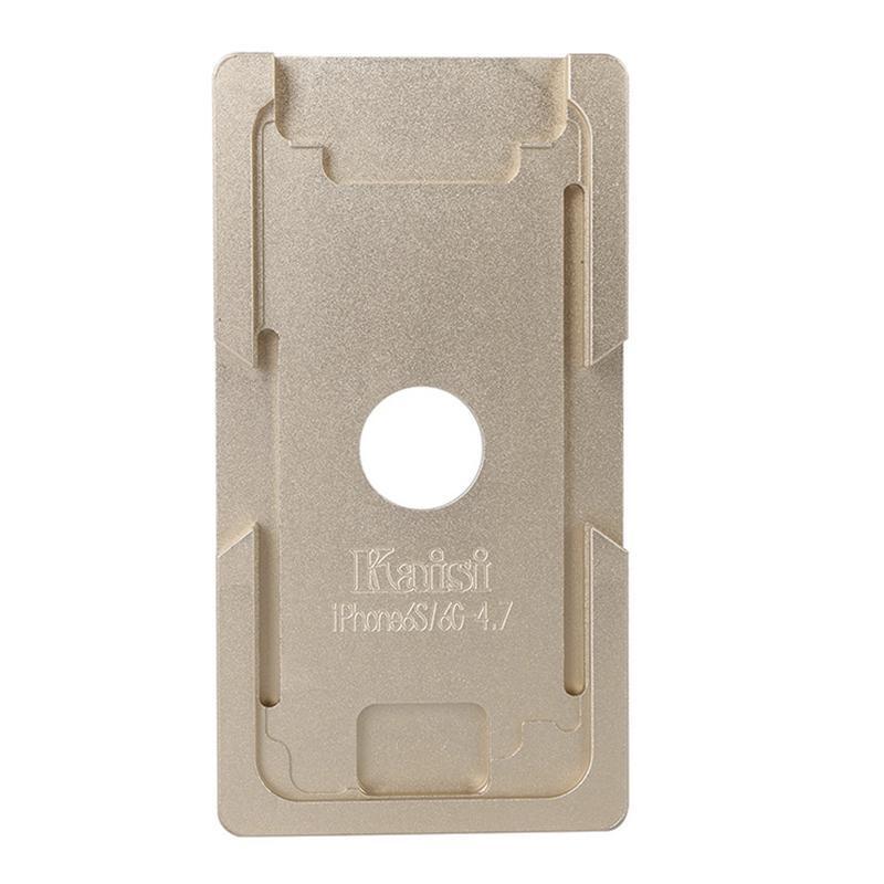 Форма металлическая для установки стекла с рамкой iPhone 6/6S