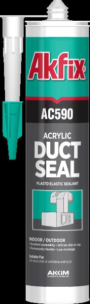 Акриловый герметик Akfix AC590 310 мл белый