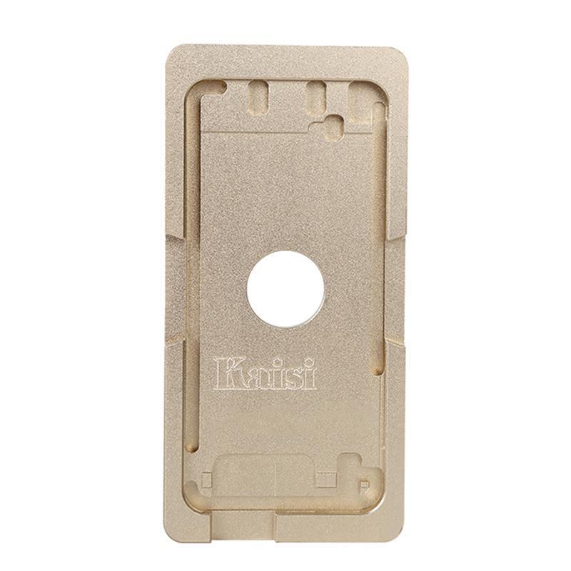 Форма металлическая для установки стекла без рамки iPhone 6/6S Plus