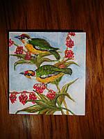 """Картина-миниатюра """"Райские птицы"""", фото 1"""