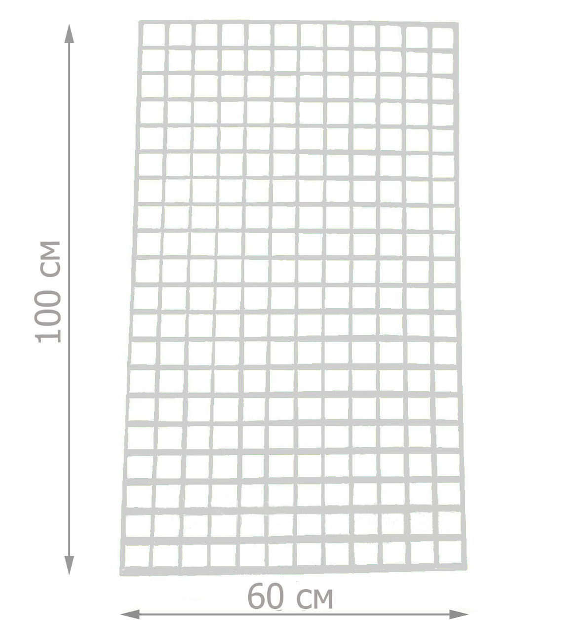 Торговая сетка решётка 100/60см ячейка 5/5см