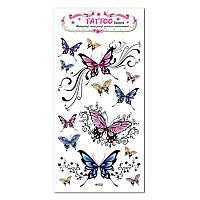 """Татуювання - наклейка """"Метелики-тату"""""""