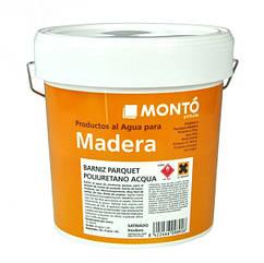 Защитный лак Monto Barniz Parquet pol Aqua Mate 0.75л