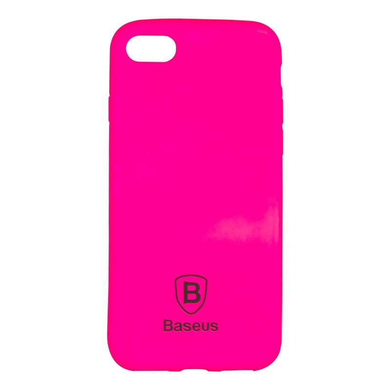 Чехол-накладка Baseus Soft Colorit для iPhone 6 Pink