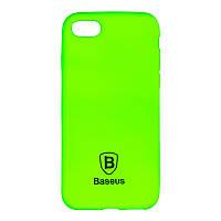 Чехол-накладка Baseus Soft Colorit для iPhone 6 Plus Green