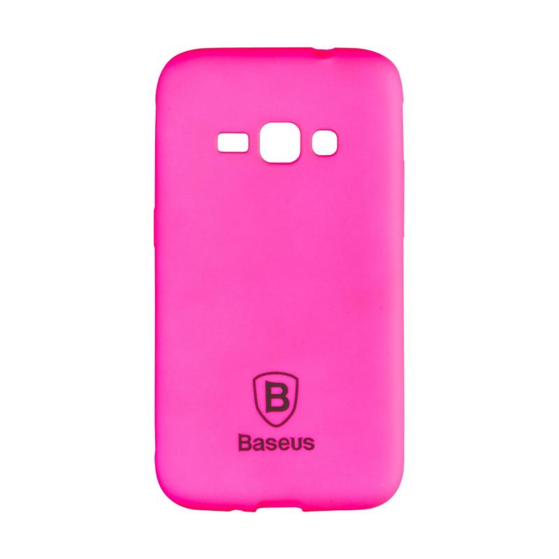Чехол-накладка Baseus Soft Colorit для Samsung J120 (J1-2016) Pink
