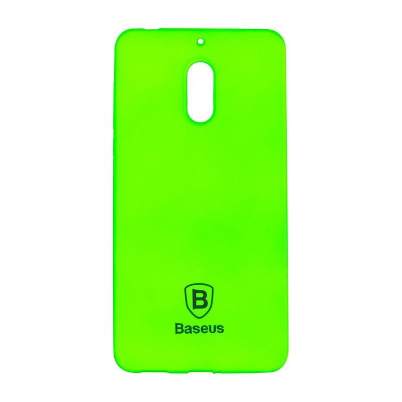 Чехол-накладка Baseus Soft Colorit для Nokia 3 Green