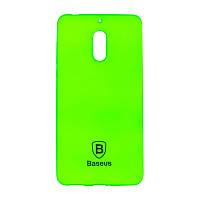 Чехол-накладка Baseus Soft Colorit для Nokia 6 Green