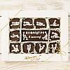"""Подарочный набор конфет """"Камасутра эконом""""черная, классическое сырье. Размер: 187х142х20мм, вес 170г"""