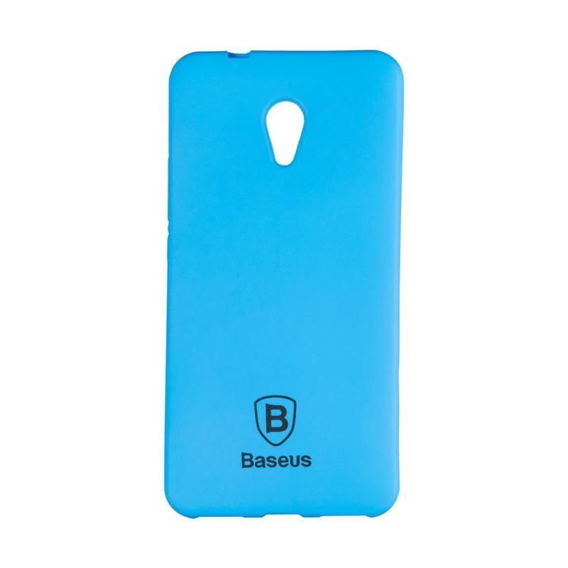 Чехол-накладка Baseus Soft Colorit для Meizu M5s Blue