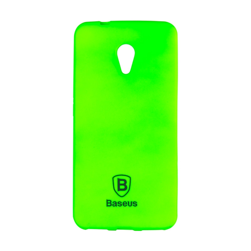Чехол-накладка Baseus Soft Colorit для Meizu M5s Green