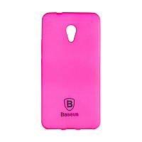 Чехол-накладка Baseus Soft Colorit для Meizu M5s Pink