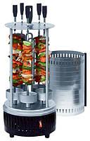 🔝 Шашлычница, электрошашлычница, вертикальная на 5 шампуров , Kelli SC-KG10, для дома и дачи, Электрошашлычницы, грили, сушки фруктов и овощей,