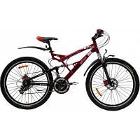 Азимут Рок 24 дюйма ROCK 126 G-FR-D горный спортивный велосипед .