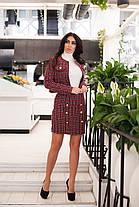Костюм с юбкой в расцветках  36363, фото 3