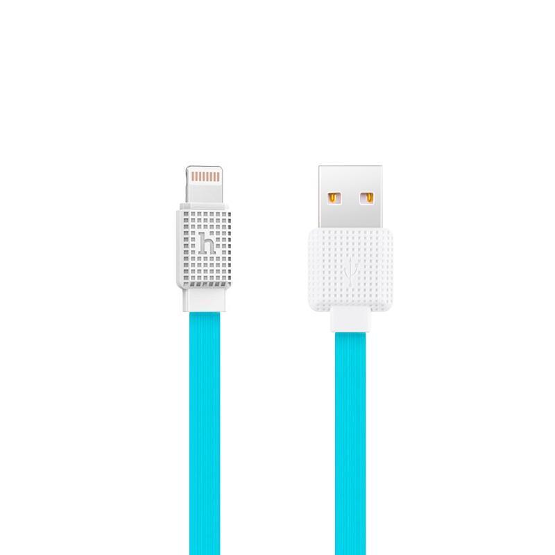 USB кабель Hoco UPL18 Waffle iPhone 6 Blue 1.2m
