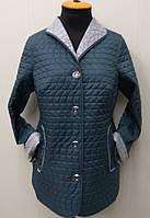 Куртка женскаядемисезонная - П-72- цвет-бирюза