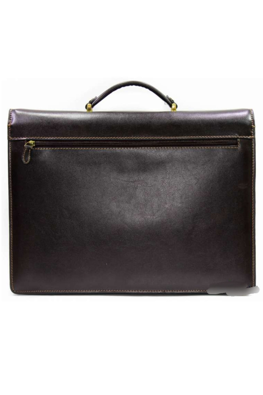 5a0cc44db261 Портфель мужской кожаный темно-коричневый Katana 63032: продажа ...