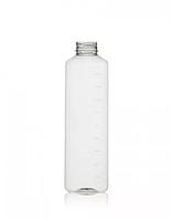 Пляшка ПЕТ 1 л мірна з гвинтовою кришкою, фото 1