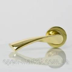 Ручка раздельная 1 (цвет золото) для межкомнатной двери, Николаев