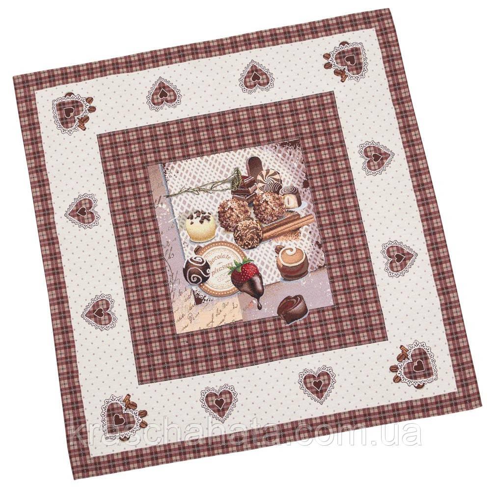 Скатерть гобеленовая, Пасхальная, 97х100 см, Эксклюзивные подарки, Столовый текстиль