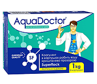 AquaDoctor SuperFlock Коагулянт длительного действия 1 кг, фото 1