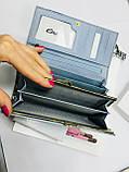Женский кожаный кошелёк, фото 2