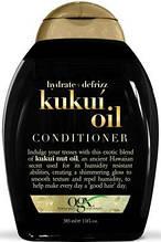 Кондиционер для увлажнения и гладкости волос OGX Kukui Oil 385ml
