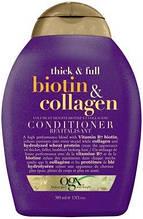 Кондиционер для тонких лишенных объема волос OGX Biotin and Collagen 385ml