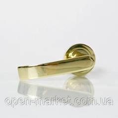 Ручка раздельная 3 (цвет золото) для межкомнатной двери, Николаев