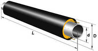 Труба стальная предварительно теплоизолированная в ПЭ оболочке 720/900