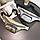 Сумка поясная женская crossbody бананка барсетка на пояс через плечо перламутровая лаковая 3 цвета, фото 9