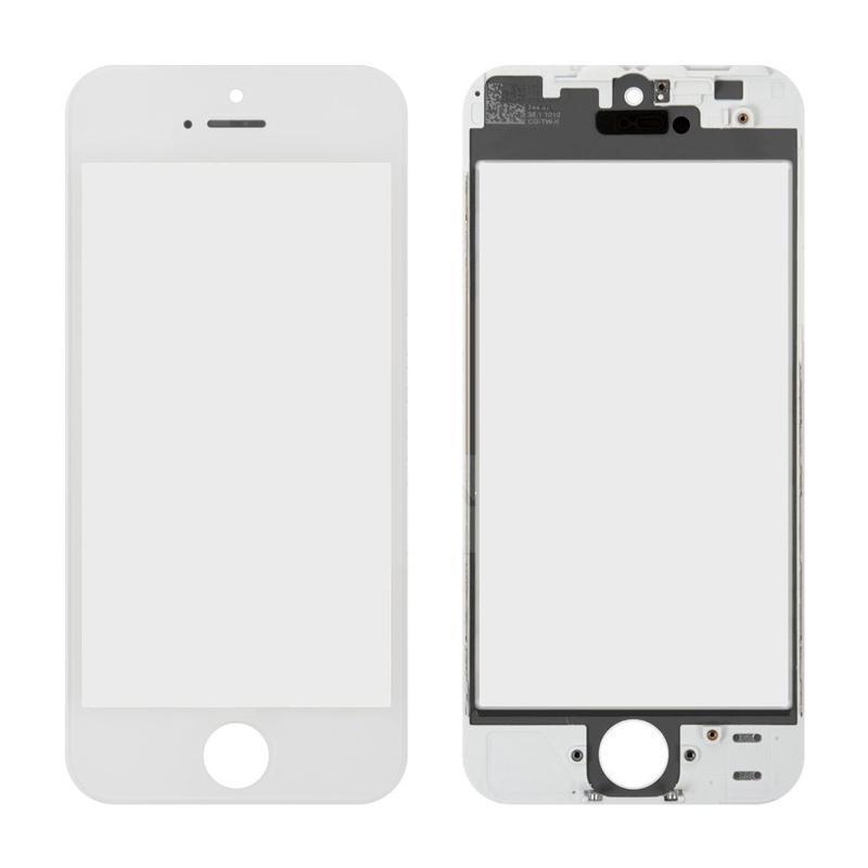 Стекло + Рамка iPhone 5 White