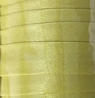 "Бейка косая ""Kotex""№6353 (желт.) атласная 110 ярд. (100,60 м)"