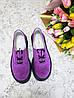 Женские туфли из натуральной замши сиреневого цвета на небольшой платформе DOKTOR POWDER SUEDE, фото 5