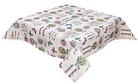 Скатерть гобеленовая, Лаванда прованс, 137х300 см, Эксклюзивные подарки, Столовый текстиль