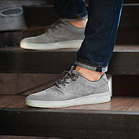 Мужские кроссовки South Fost gray. Натуральная замша, фото 1