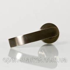 Ручка раздельная 3 (цвет бронза) для межкомнатной двери, Николаев