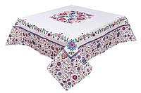 Скатерть гобеленовая, Узор, 97х100 см, Эксклюзивные подарки, Столовый текстиль