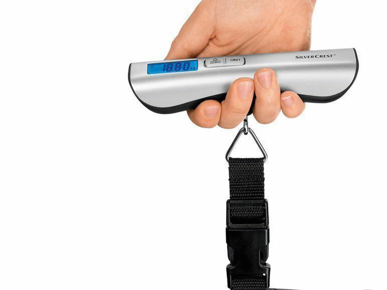 Ручные - цифровые весы SILVERCREST, до 50 кг