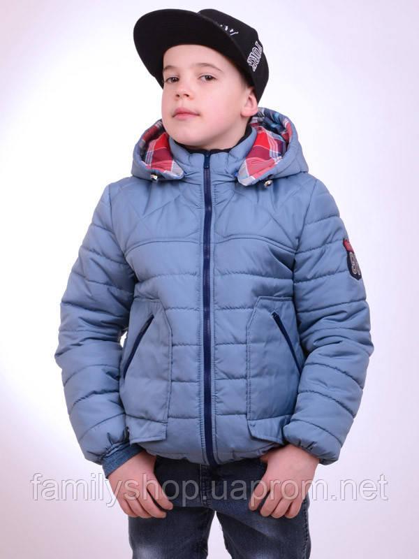 Детская весенняя куртка на мальчика подростка  Luxik 158