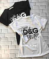 Футболка женская Dolce&Gabbana  D&G, фото 1