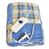 ✅ Простынь с подогревом, электропростынь 150x120 см. - синяя, Электропростыни и одеяла с подогревом, Електропростирадла і ковдри з підігрівом