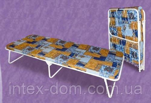 Металлическая раскладная кровать-тумба «Отдых»