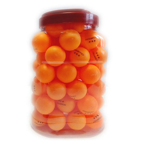 Шарики Champion, 60шт, оранжевый